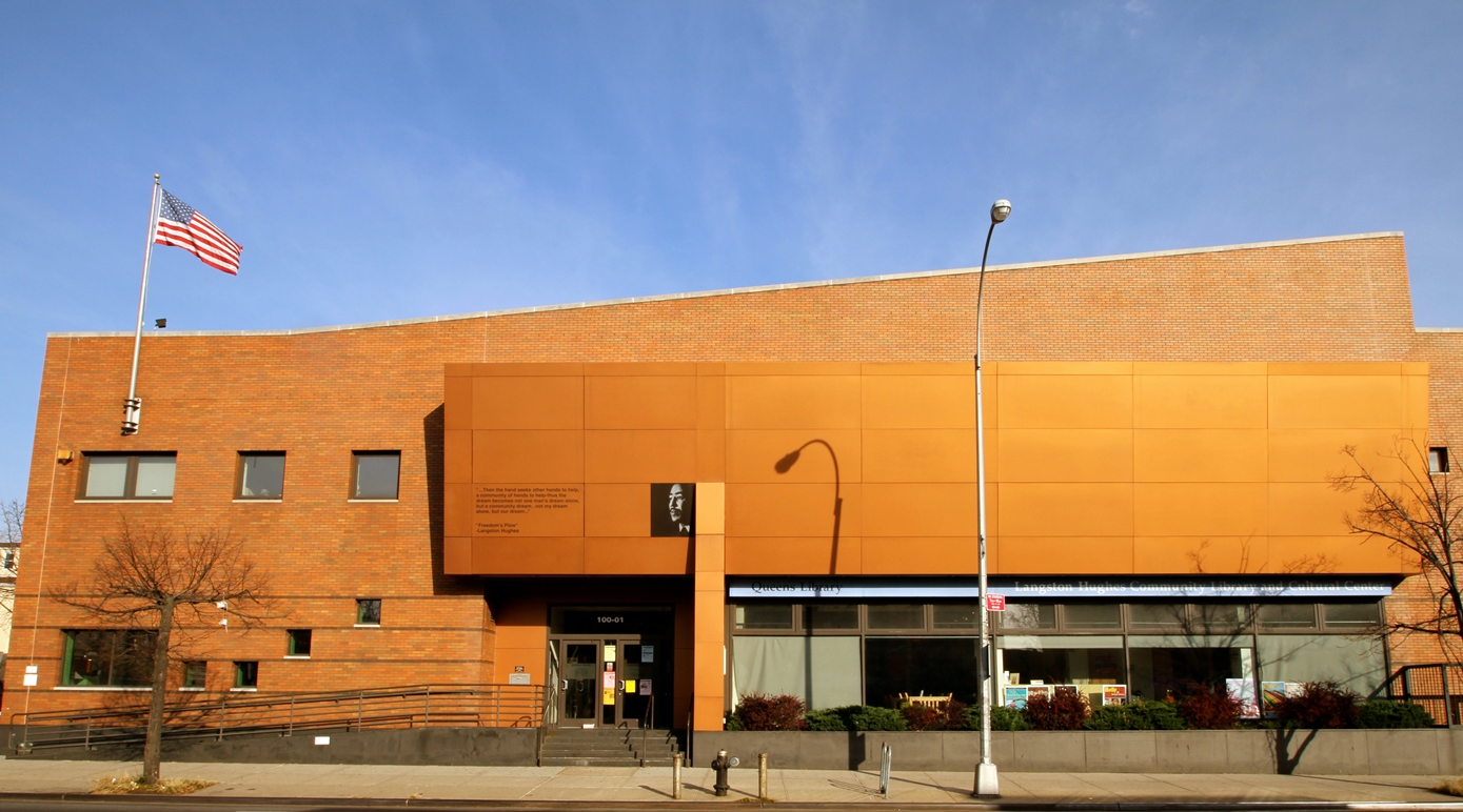Langston Hughes Library Exterior