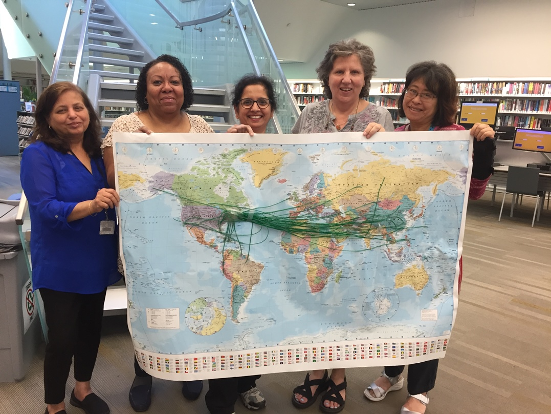Mapping  Immigration Journeys