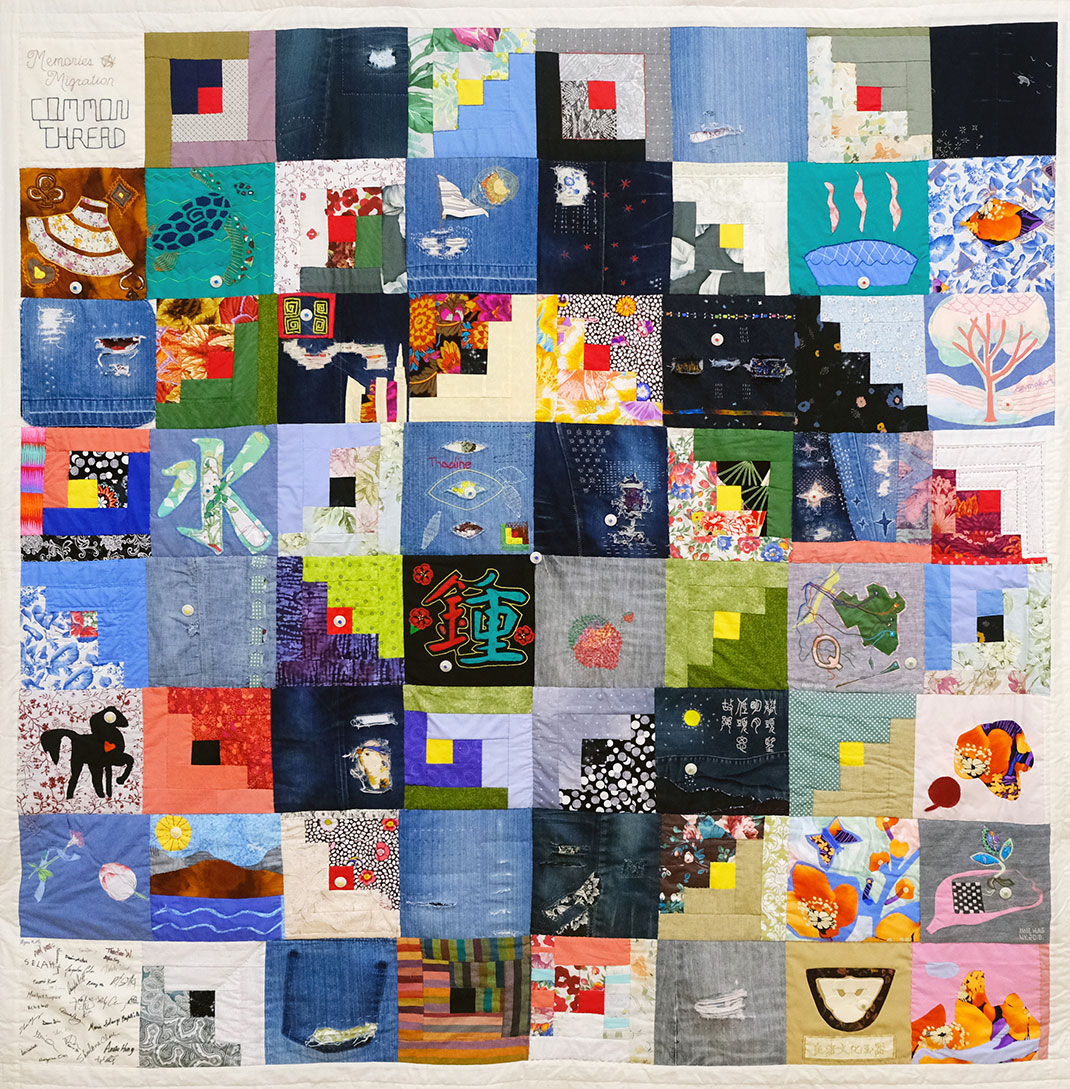 Making Community Story Quilts
