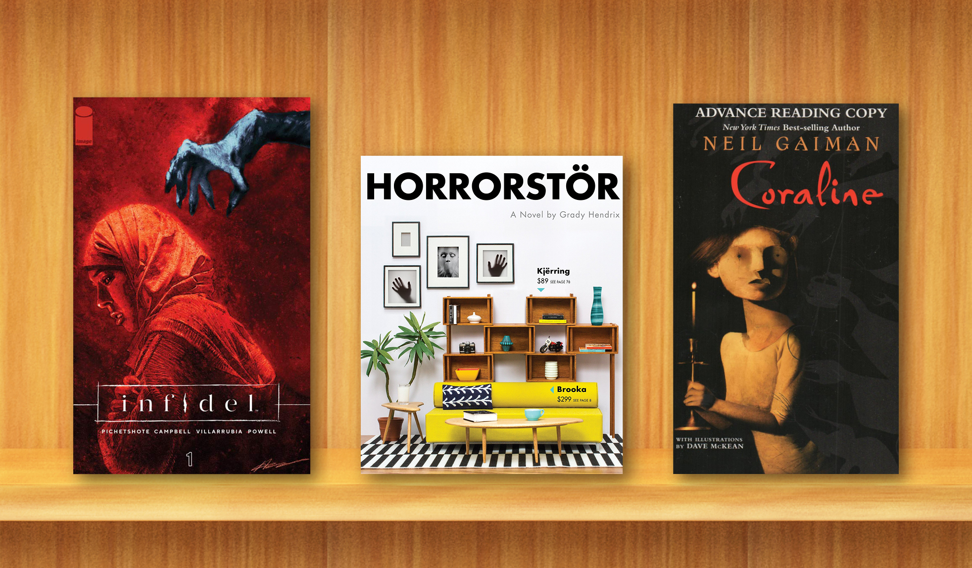 We asked our librarians to share their favorite terrifying tales with us. Here are their recommendations!