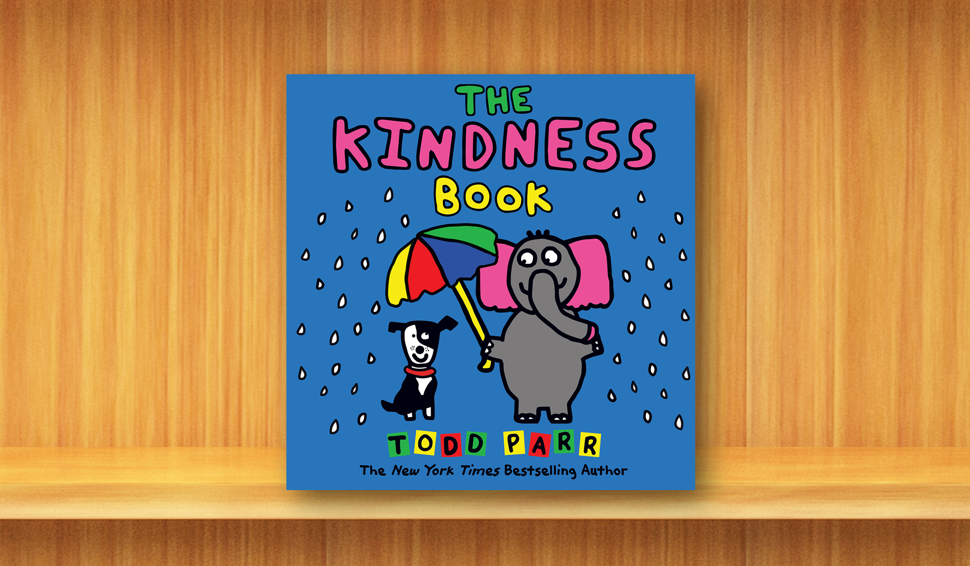 New York Times bestselling author Todd Parr explores the value and joy of kindness.