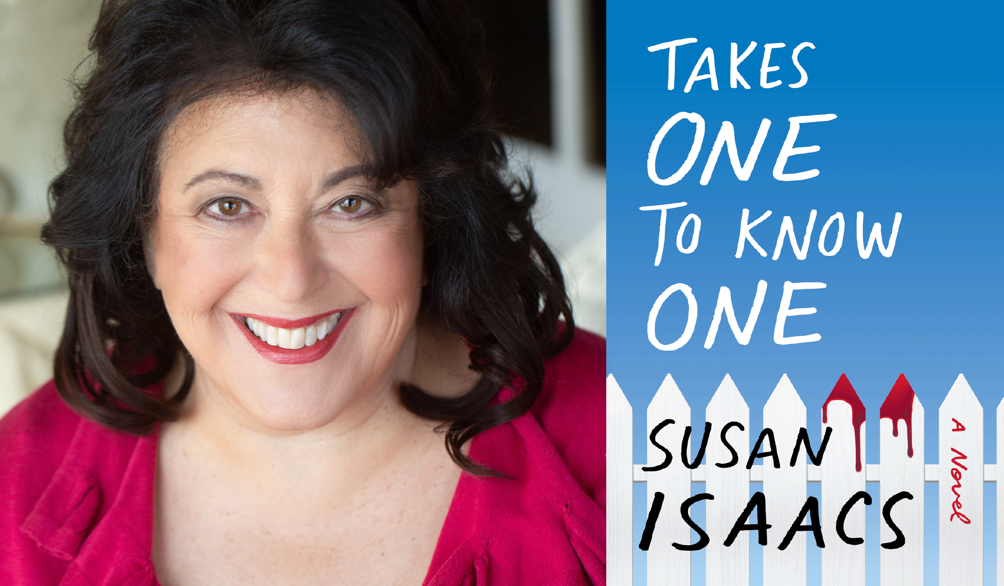 Susan Isaacs returns to Forest Hills Library on Saturday, October 26 to talk about her new novel.