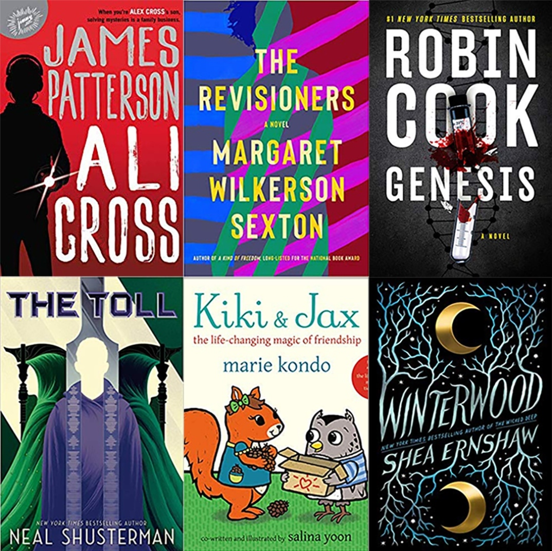 Hot New Book Releases in November and December