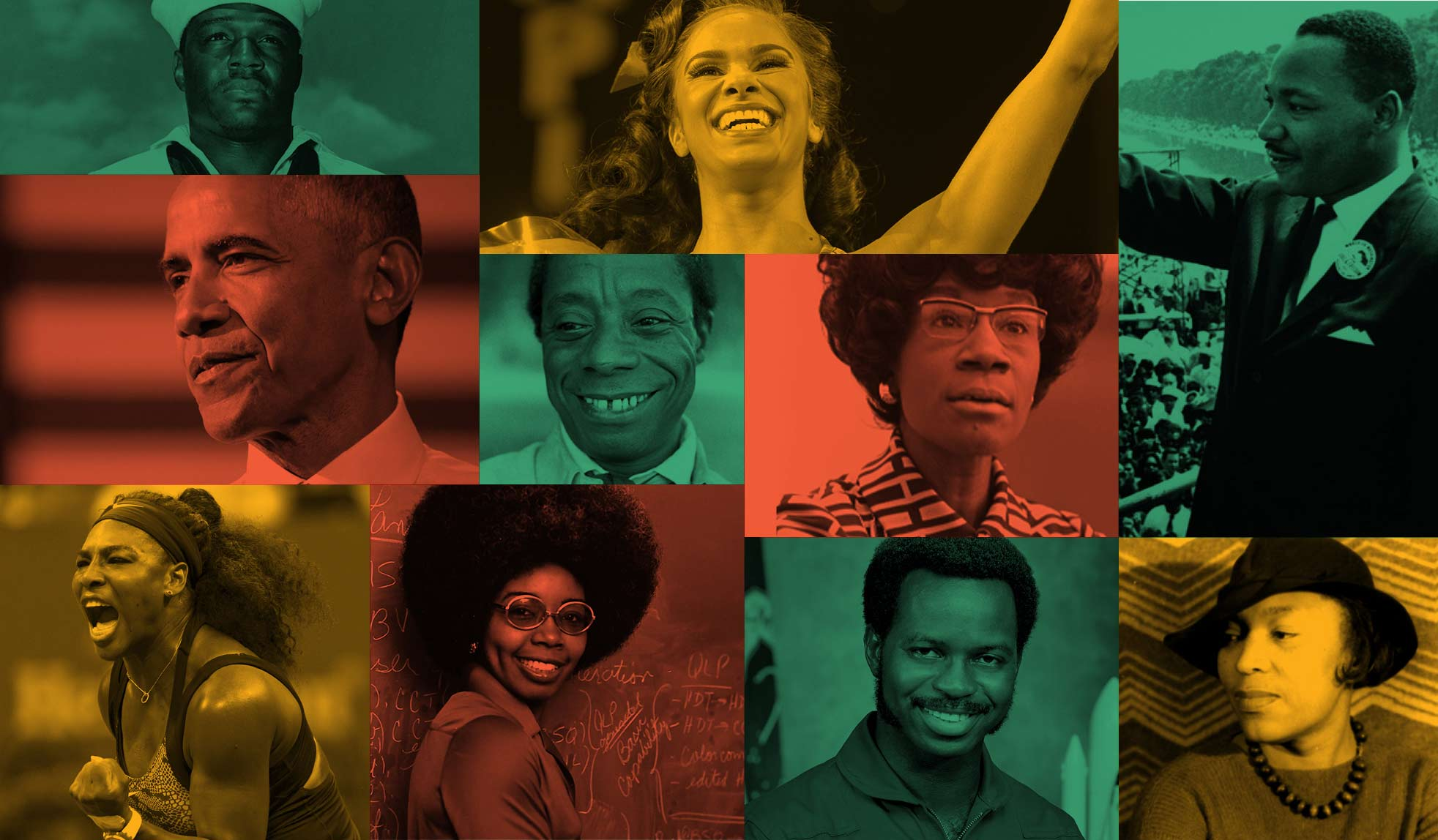 Join our celebration of African American icons.