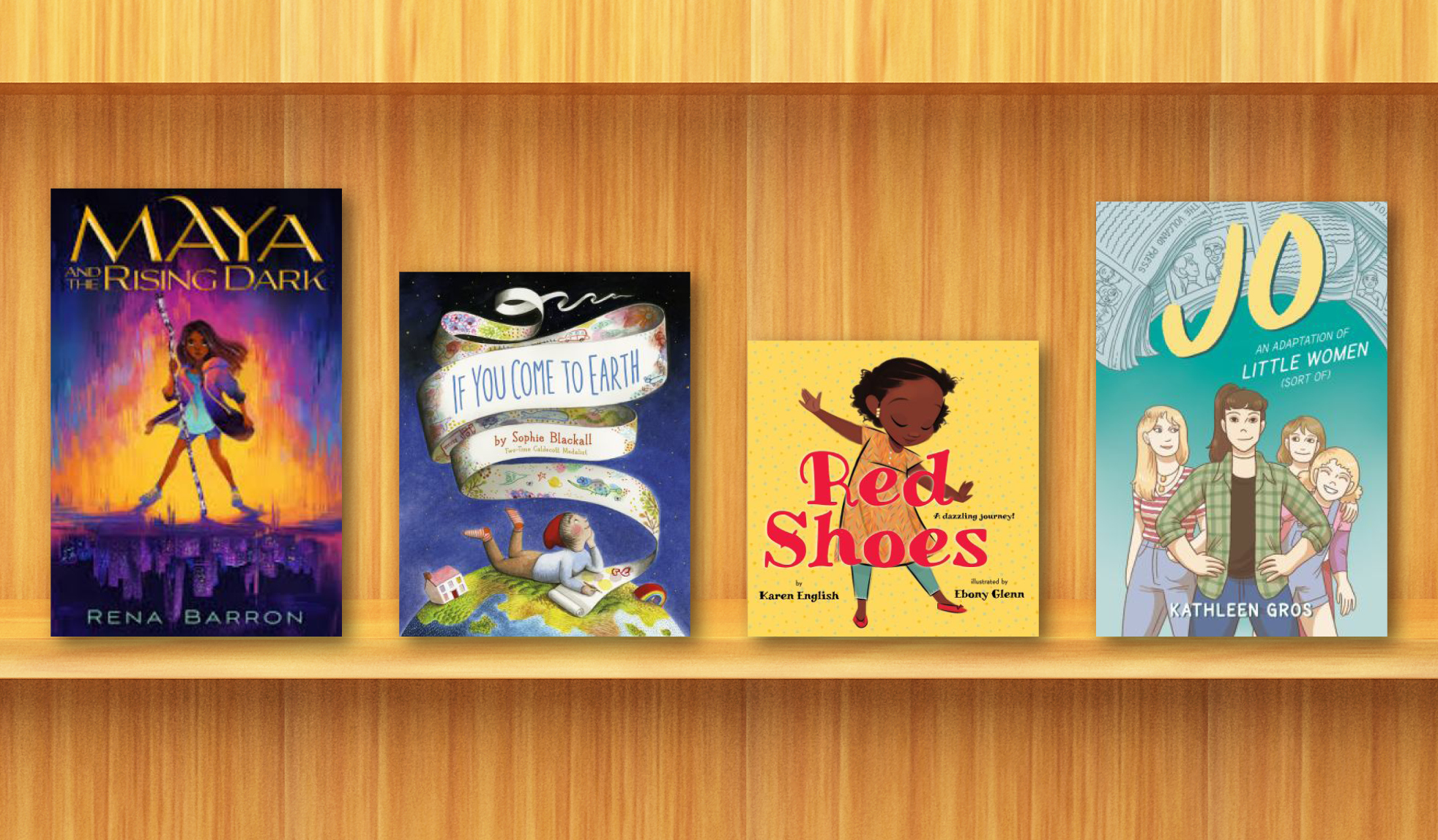 See our list of new and recommended eBooks for kids.