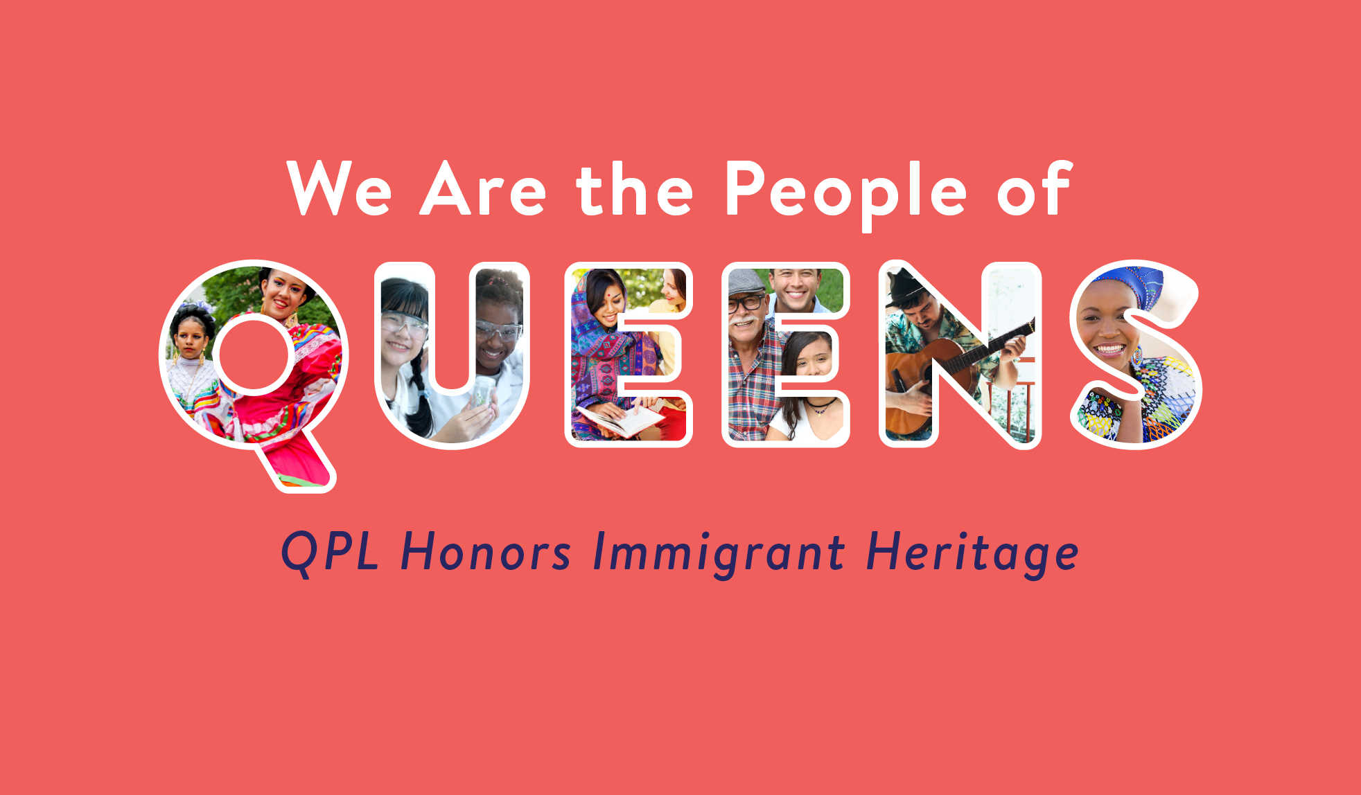 We're celebrating the immigrant heritage of the people of Queens with special programs.